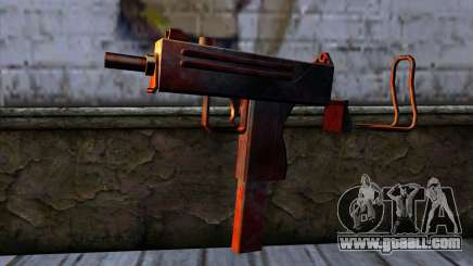 Micro Uzi v2 Rusty-bloody for GTA San Andreas