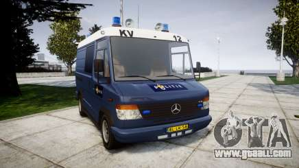 Mercedes-Benz Vario 614D SWAT [ELS] for GTA 4