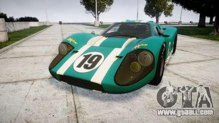 Ford GT40 Mark IV 1967 PJ Schila Racing 19 for GTA 4