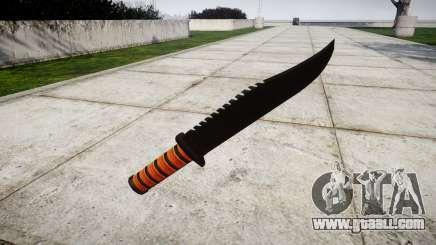 Fighting knife Ka-Bar for GTA 4