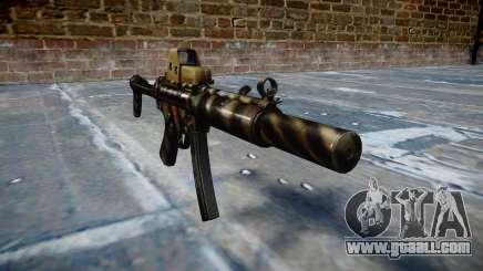 Gun MP5SD EOTHS FS c target for GTA 4