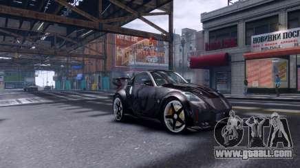 Nissan 350Z Tokyo Drift for GTA 4