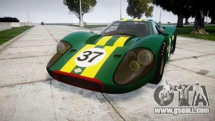 Ford GT40 Mark IV 1967 PJ 37 for GTA 4