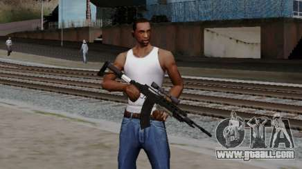 Heavy Sniper Rifle from GTA V for GTA San Andreas