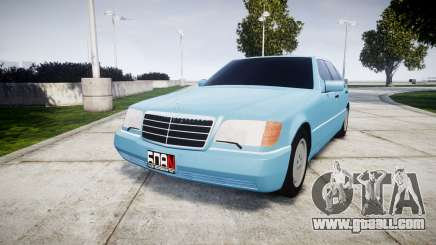 Mercedes-Benz 600SEL W140 for GTA 4
