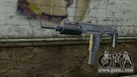 MP5 from GTA Vice City for GTA San Andreas
