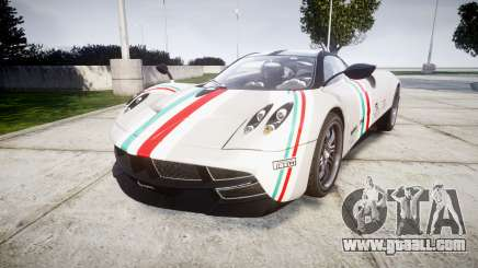 Pagani Huayra 2013 for GTA 4
