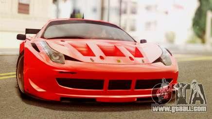 Ferrari 62 F458 2011 for GTA San Andreas