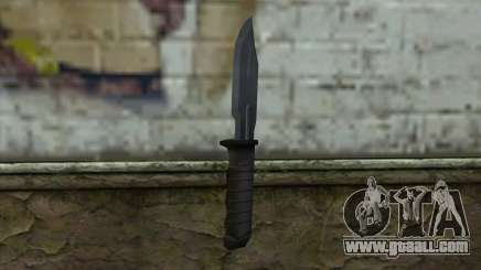 Retextured Knife for GTA San Andreas