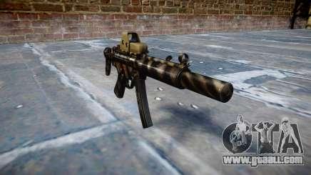 Gun MP5SD EOTHS CS c target for GTA 4