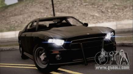 Bravado Buffalo S FIB for GTA San Andreas