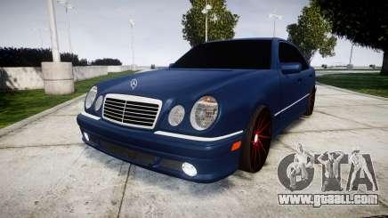 Mercedes-Benz W210 E55 2000 AMG Vossen VVS CVT for GTA 4