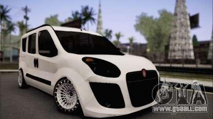 Fiat Doblo 2010 Edit for GTA San Andreas