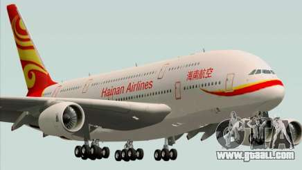 Airbus A380-800 Hainan Airlines for GTA San Andreas
