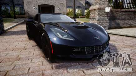Chevrolet Corvette Z06 2015 TireYA3 for GTA 4