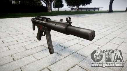 Gun MP5SD RO CS for GTA 4