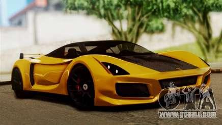 Ferrari Velocita 2013 SA Plate for GTA San Andreas