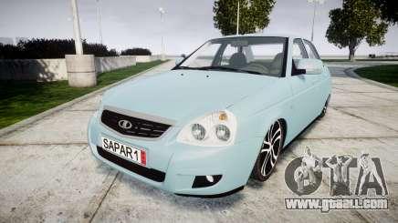 ВАЗ-Lada 2170 Priora Sapara for GTA 4