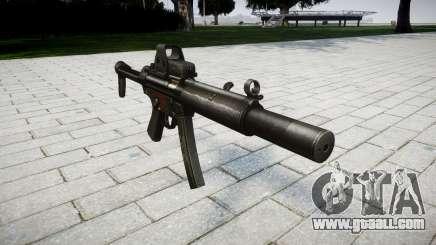 Gun MP5SD EOTHS FS for GTA 4