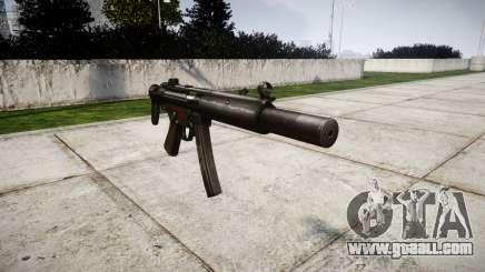 German submachine gun HK MP5SD3 for GTA 4