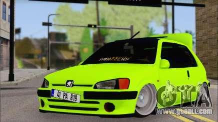 Peugeot 106 GTI JDM STYLE for GTA San Andreas
