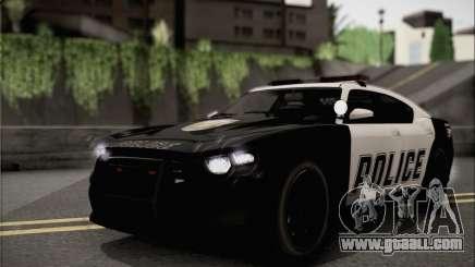 Bravado Buffalo S Police Edition (HQLM) for GTA San Andreas