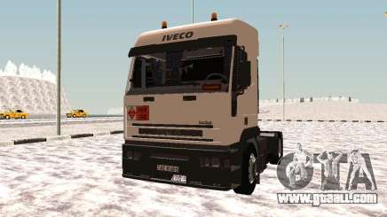Iveco EuroTech Flammable for GTA San Andreas