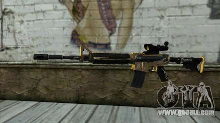 M4A1 from PointBlank for GTA San Andreas