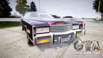 Cadillac Eldorado 1978 for GTA 4