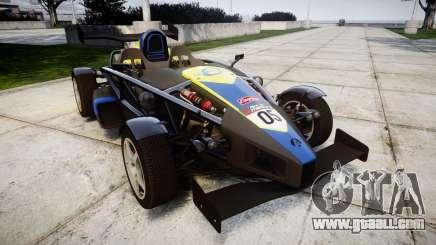 Ariel Atom V8 2010 [RIV] v1.1 Petrolos for GTA 4