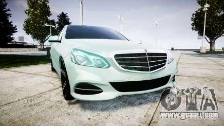 Mercedes-Benz E200 Vossen VVS CV5 for GTA 4
