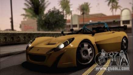 Lotus 2 Eleven (211) for GTA San Andreas