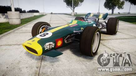 Lotus 49 1967 green for GTA 4