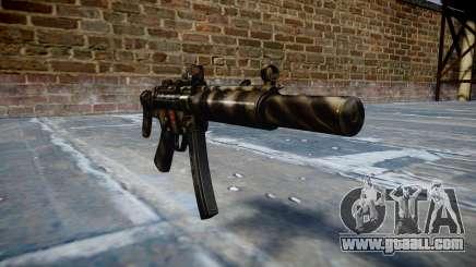 Gun MP5SD DRS CS c target for GTA 4