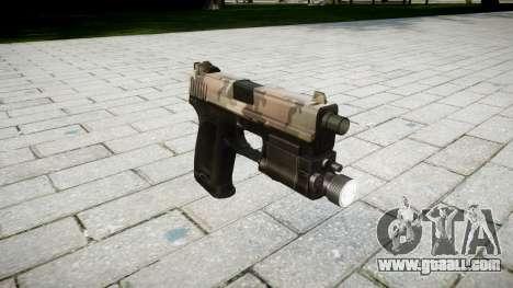 Gun HK USP 45 erdl for GTA 4