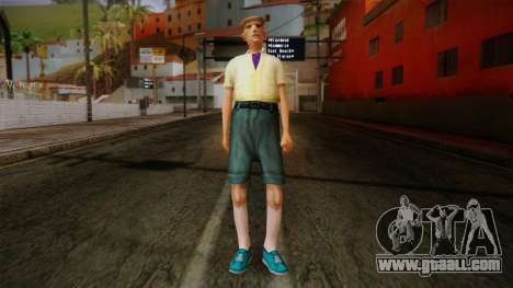 GTA San Andreas Beta Skin 17 for GTA San Andreas