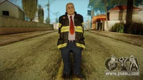 GTA 4 Emergency Ped 13 for GTA San Andreas
