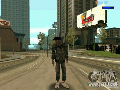 Cкин Benito из Stalker for GTA San Andreas