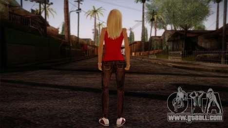 Gedimas Denise Skin HD for GTA San Andreas second screenshot