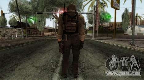 Modern Warfare 2 Skin 10 for GTA San Andreas second screenshot