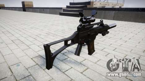 Автомат Heckler & Koch G36 CV target for GTA 4 second screenshot