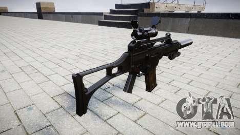Автомат Heckler & Koch G36 CV target for GTA 4 second screenshot