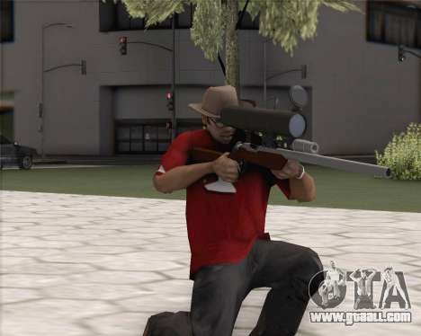 TF2 Sniper Rifle for GTA San Andreas second screenshot