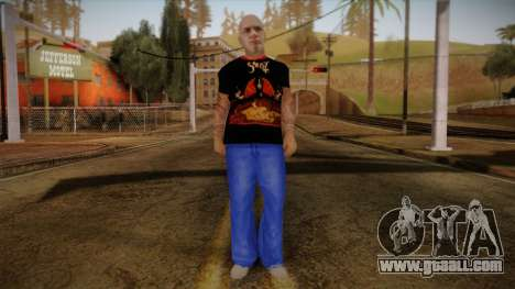 Phil Anselmo Skin for GTA San Andreas