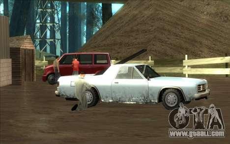 Road garage of Sigea for GTA San Andreas fifth screenshot