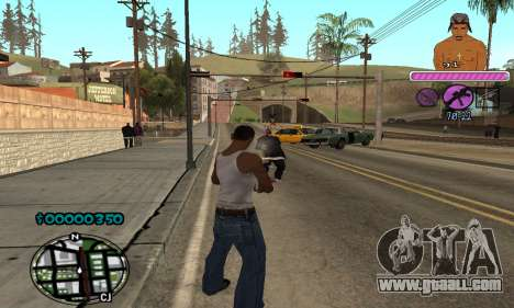 C-HUD 2Pac for GTA San Andreas forth screenshot