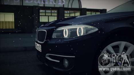 BMW 535i F10 for GTA San Andreas side view