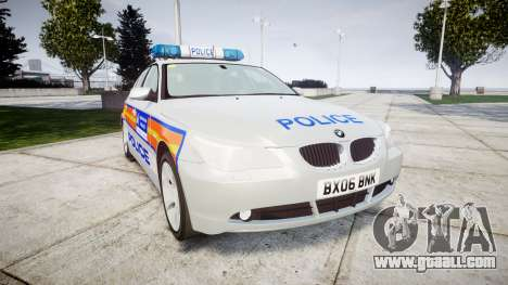 BMW 525d E60 2006 Police [ELS] for GTA 4