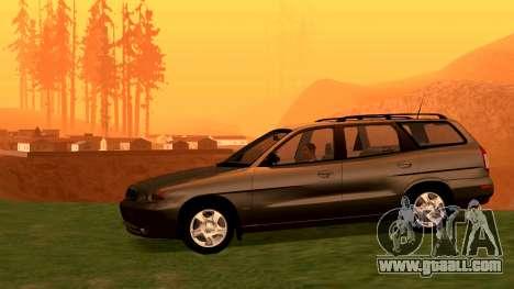 Daewoo Nubira I Wagon CDX US 1999 for GTA San Andreas right view