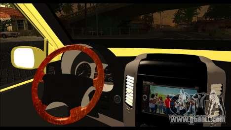Volkswagen Transporter Panelvan for GTA San Andreas back left view